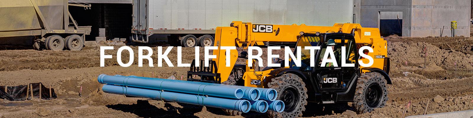 Forklift Rentals in NY, NJ, CT   Durante Rentals   Telehandlers