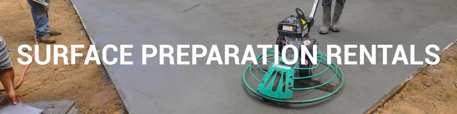 Rent Concrete Surface Preparation Equipment   Durante