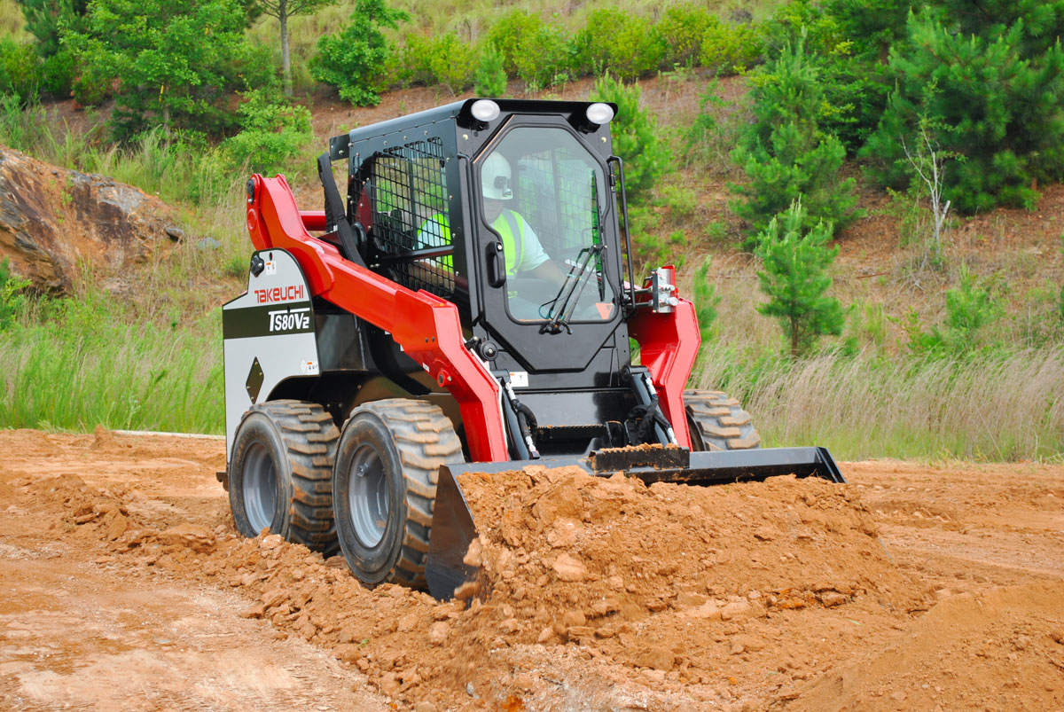 Rent Skid Steer Loaders and Track Loaders - Durante Rentals NY, NJ, CT
