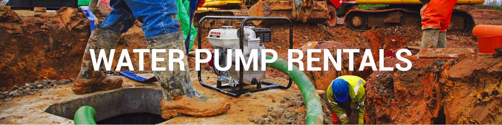 Water Pump Rentals, Trash Pumps, Sub Pumps | Durante Rentals of NY