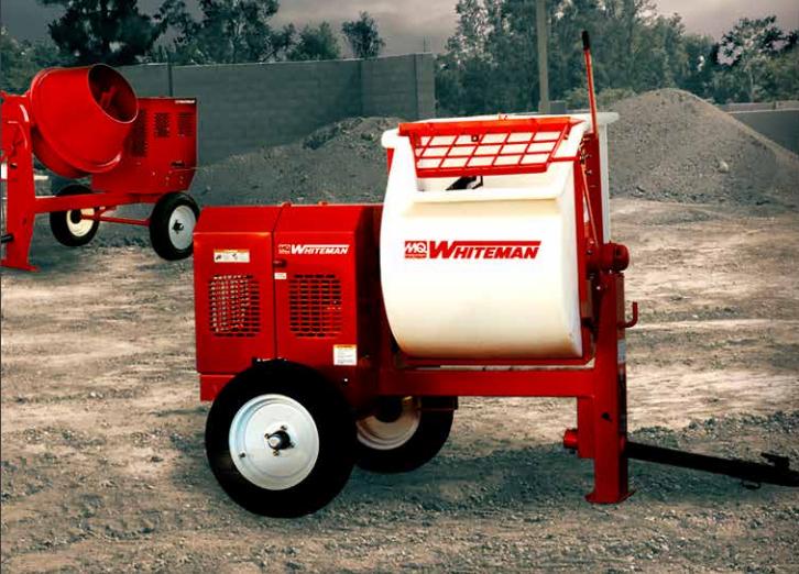 Rent Cement Concrete Mortar Mixers | Durante Rentals