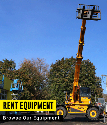 Rent Construction Equipment in NY, NJ, CT | Durante Rentals