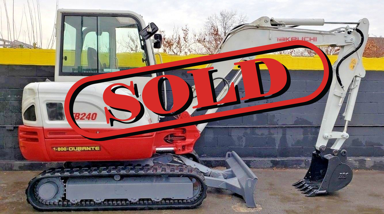 Used TB240 | Rent Construction Equipment in NY, NJ, CT | Durante